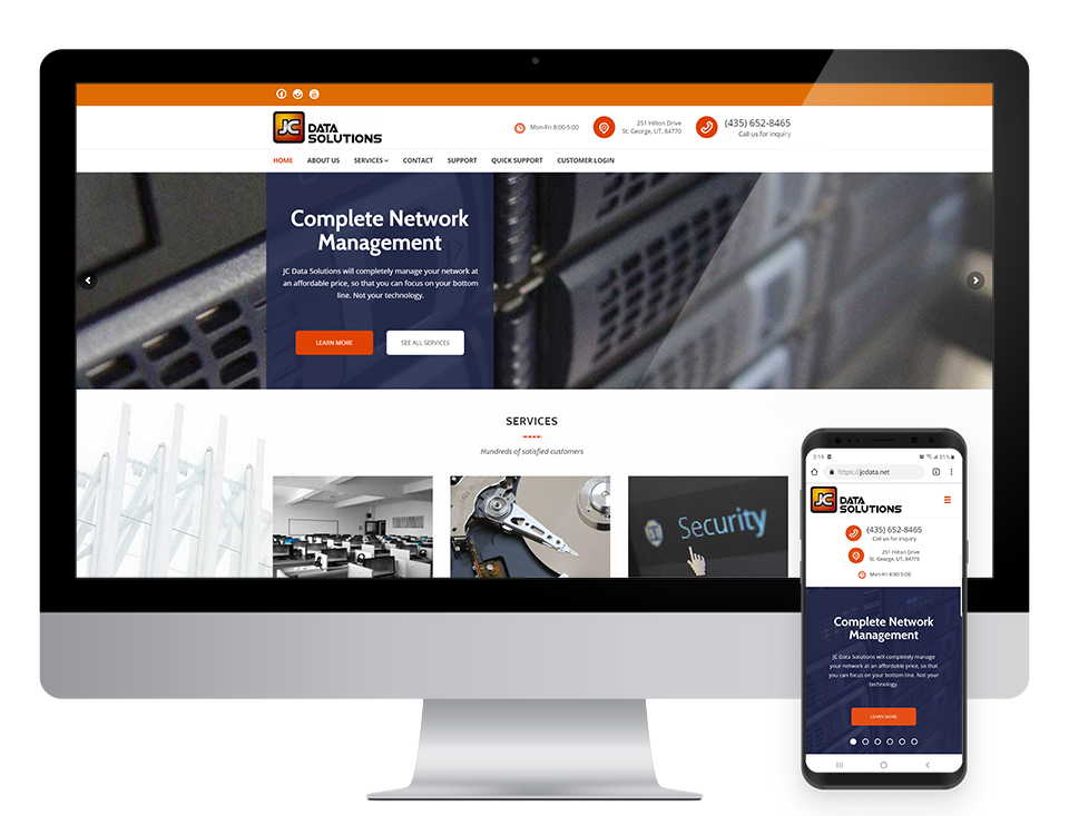 st george website design